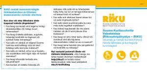 Esikatselukuva vironkielisestä palveluesitteestä