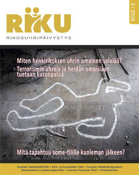RIKU-lehti 2/2016, henkirikokset