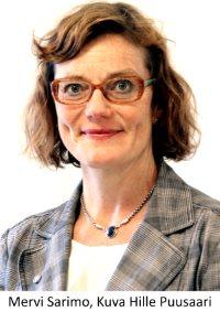Oikeusministeriön neuvotteleva virkamies Mervi Sarimo, Kuva Hille Puusaari
