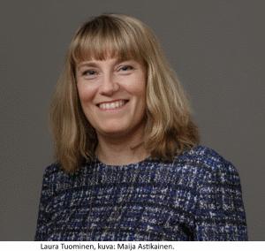 Laura Tuominen, kuva: Maija Astikainen.