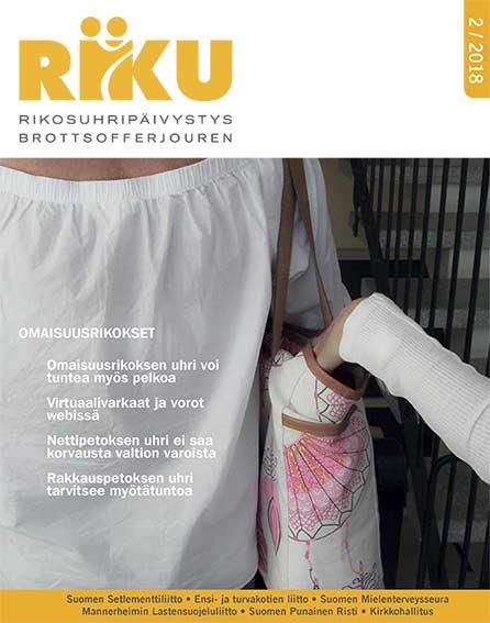 RIKU-lehti 1/2018 seksuaalirikokset