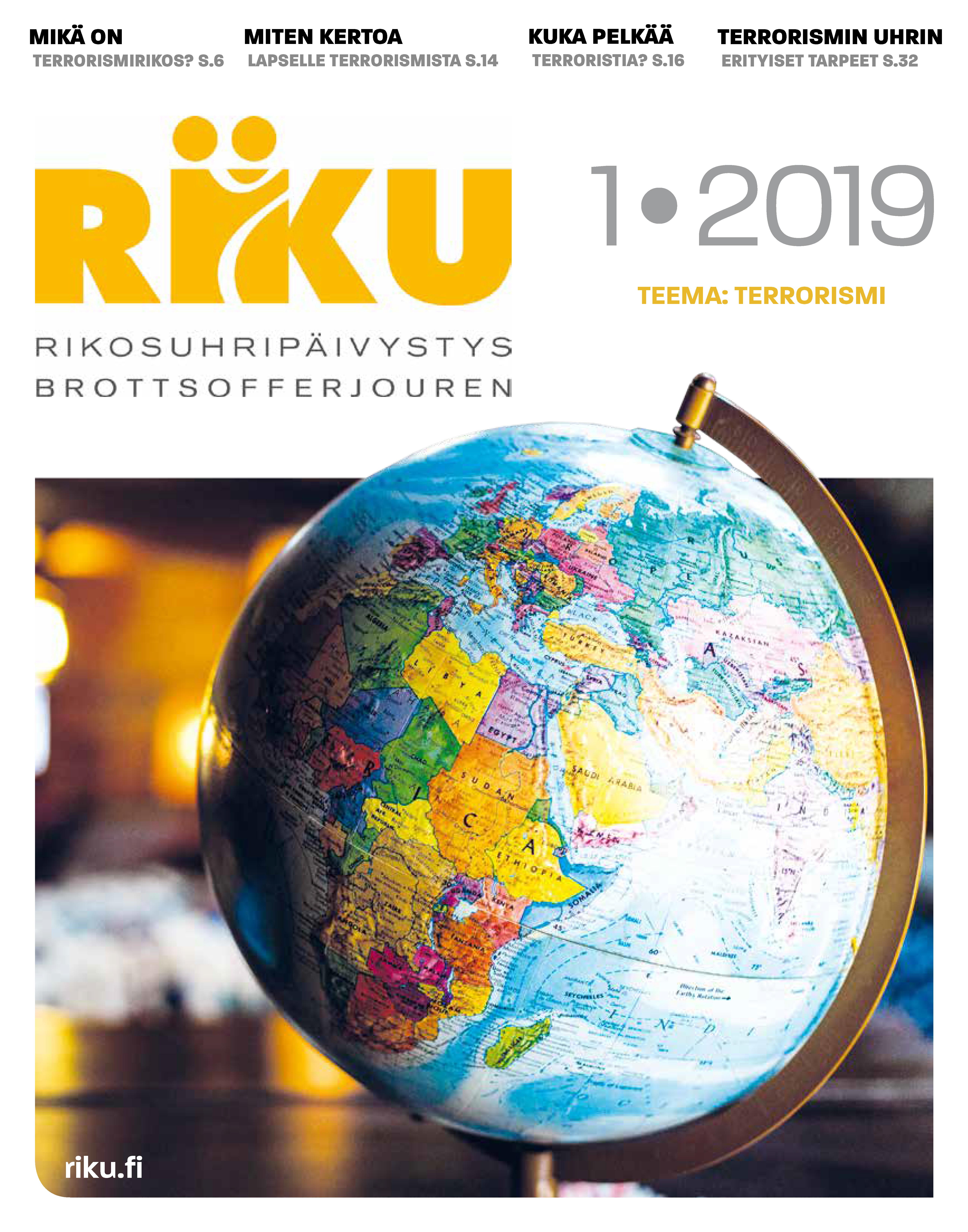 RIKU-lehti 3/2018 väkivaltarikokset